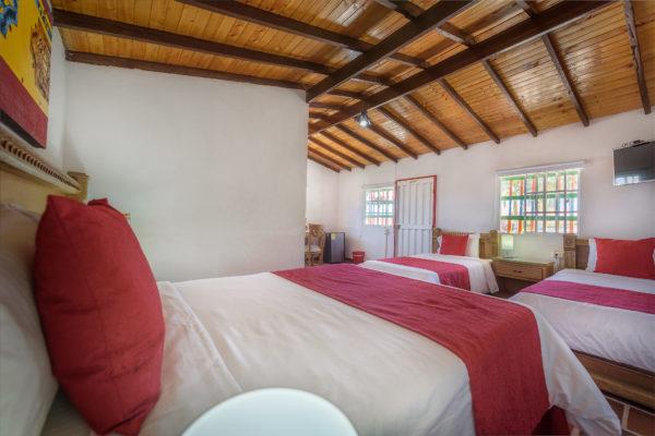 Interior cabaña 16