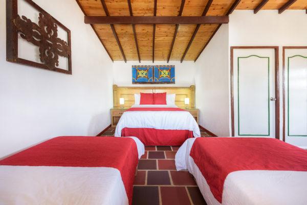 Interior cabaña 15