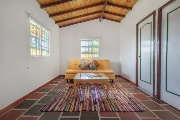 Interior cabaña 9